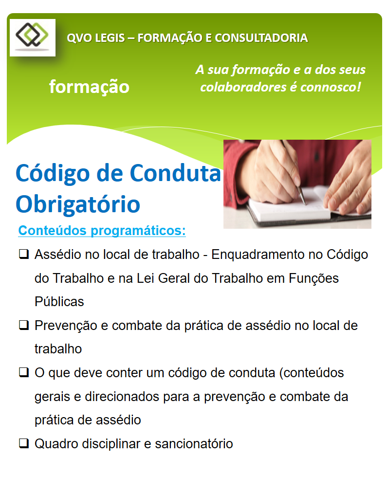 Código de conduta para empresas